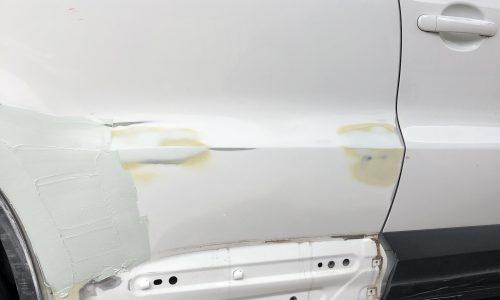 Mercedes - Panel Repair - Mobile Car Scratch Repair