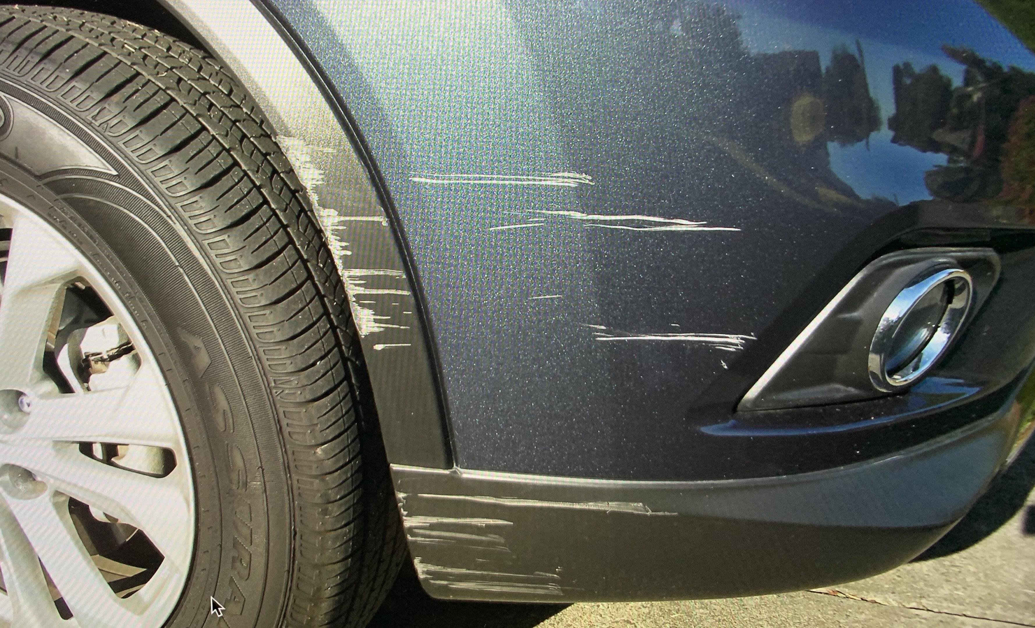 Nissan - Bumper Repair - Mobile Car Scratch Repair